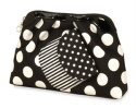 Black/White Cosmetic Case set