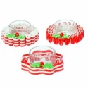 Candy Cane Tea Light Holder