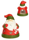 Chubby Little Santa Tea Light Holder